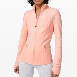 Lululemon Define Jacket in Ballet Slipper Pink